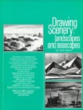 Drawing Scenery: Landscapes and Seascapes (Paperback)