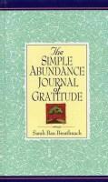 Simple Abundance Journal of Gratitude (Hardcover)