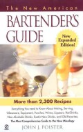 The New American Bartender's Guide (Paperback)
