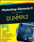 Photoshop Elements 9 All-in-One for Dummies (Paperback)