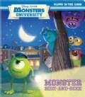 Monster Hide-and-Seek: Glows in the Dark (Board book)