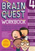 Brain Quest Grade 4: Ages 9 - 10 Workbook (Paperback)