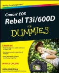 Canon EOS Rebel T3i / 600D for Dummies (Paperback)