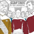 Star Trek The Next Generation Adult Coloring Book: Continuing Missions (Paperback)
