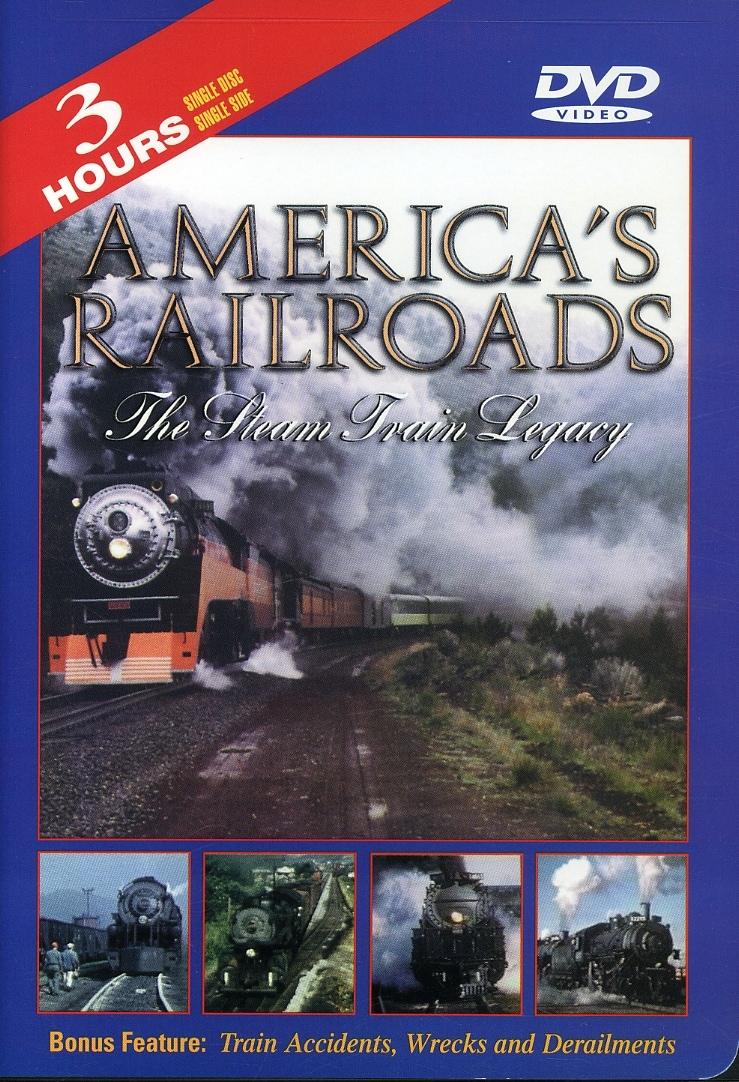 America's Railroads - Steam Train (DVD)