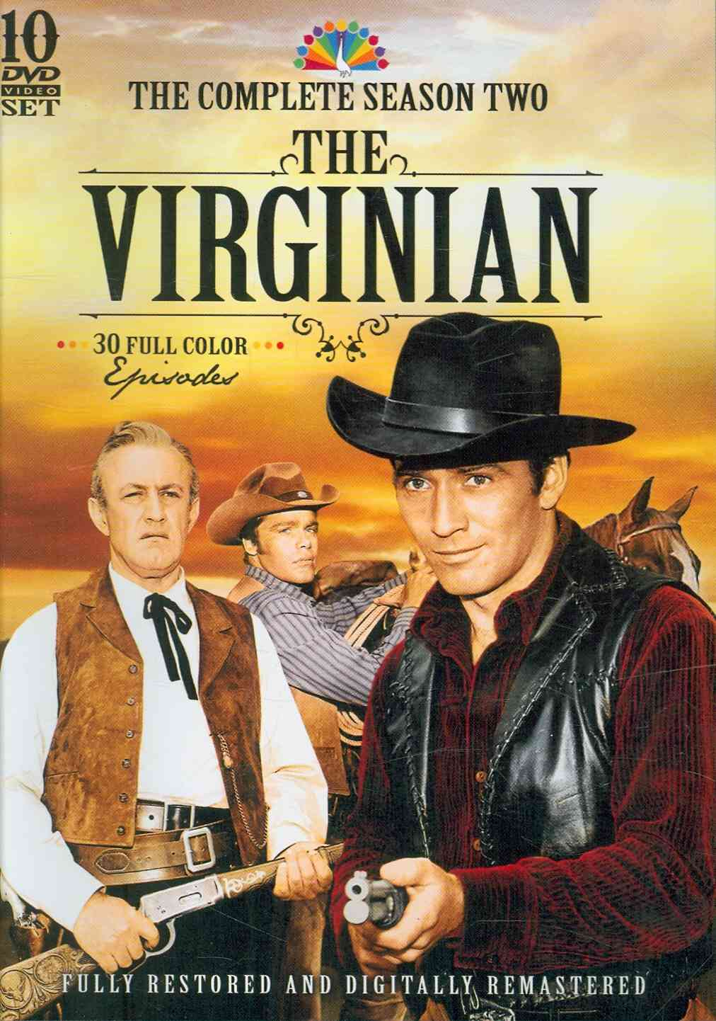 The Virginian: The Complete Season 2 (DVD)