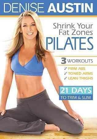 Denise Austin: Shrink Your Fat Zones Pilates (DVD)
