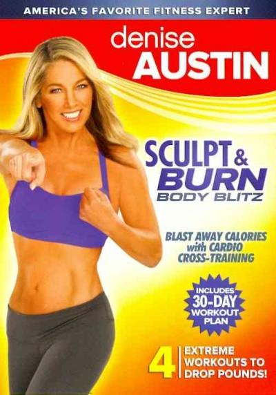 Denise Austin: Sculpt & Burn Body Blitz (DVD)
