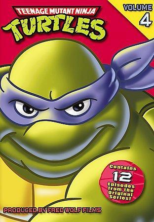 Teenage Mutant Ninja Turtles Vol 4 (DVD)