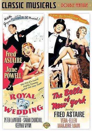 Royal Wedding/Belle of New York (DVD)