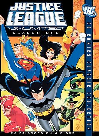 Justice League Unlimited: The Complete First Season (DVD)