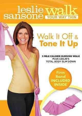 Leslie Sansone: Walk It Off & Tone It Up (DVD)