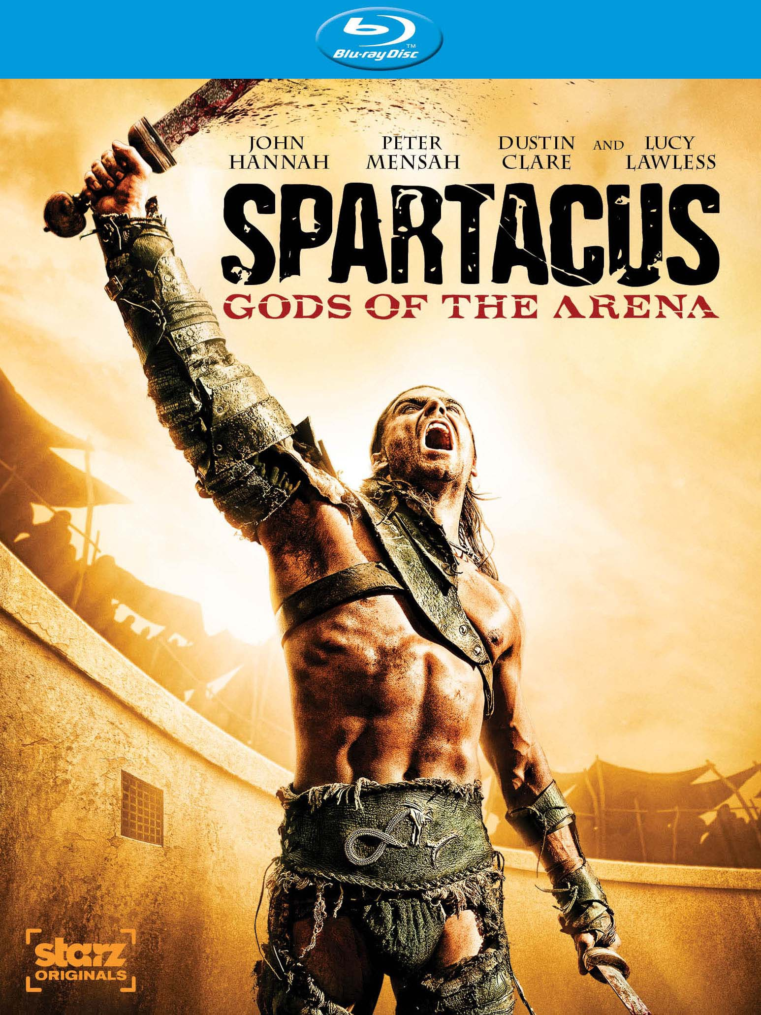 Spartacus: Gods Of The Arena (Blu-ray Disc)
