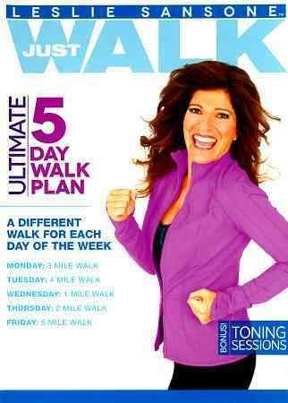 Leslie Sansone: 5 Day Walk Plan (DVD)