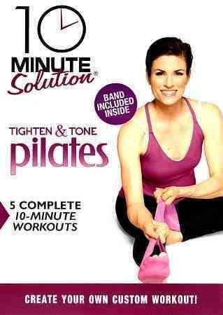 10 Minute Solution: Tighten & Tone Pilates (DVD)