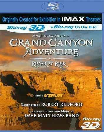 Grand Canyon Adventure: River at Risk 3D (IMAX) (Blu-ray Disc)