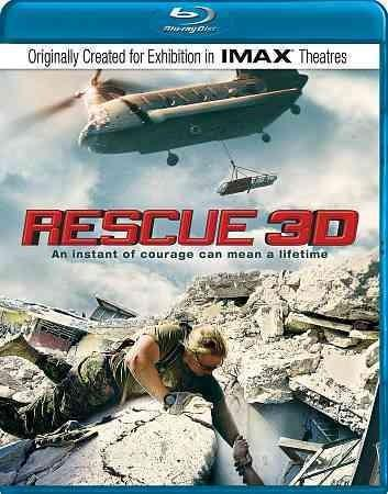 Rescue 3D (IMAX) (Blu-ray Disc)