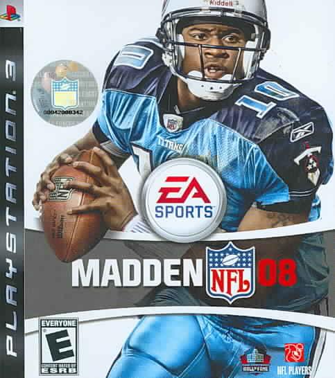 PS3 - Madden NFL 08