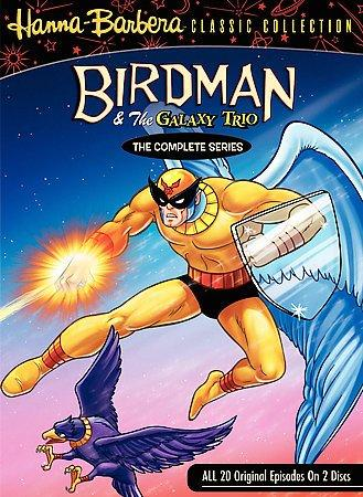 Birdman and the Galaxy Trio: The Complete Series (DVD)