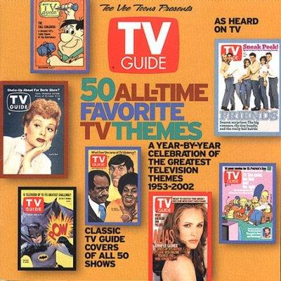 Various - 50 All Time Favorite TV Themes