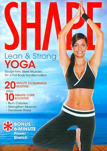 Shape: Lean And Strong Yoga (DVD)