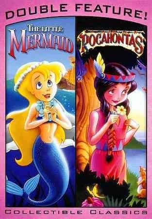 The Little Mermaid & Pocahontas (DVD)