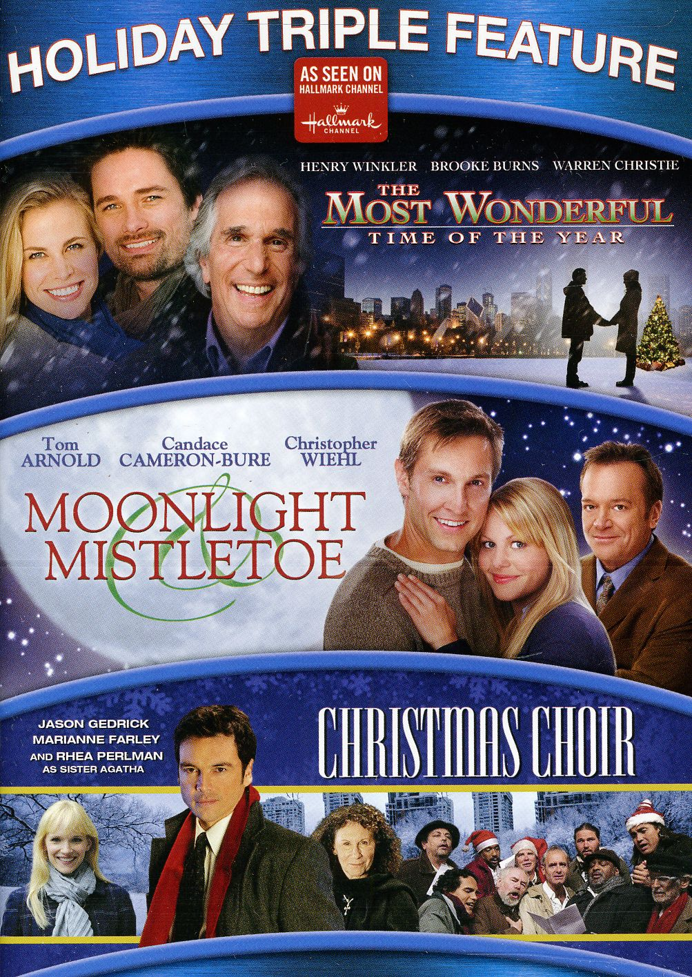 The Most Wonderful Time Of The Year/Moonlight & Mistletoe/The Christmas Choir (DVD)