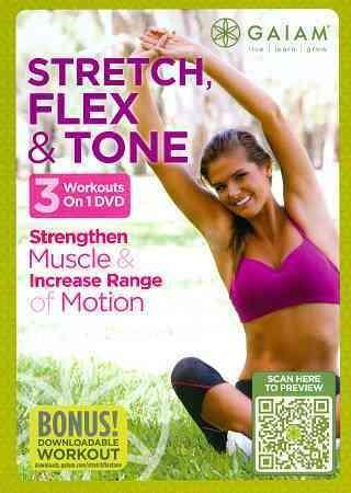 Stretch, Flex & Tone (DVD) - Thumbnail 0