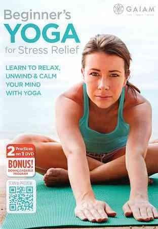 Beginner's Yoga For Stress Relief (DVD)