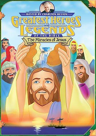 The Miracles Of Jesus (DVD)