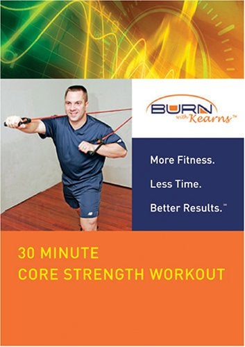 Burn with Kearns- 30 Minute Core Strength Workout (DualDisc)