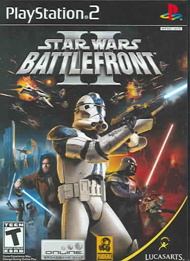 PS2 - Star Wars Battlefront II - Thumbnail 0