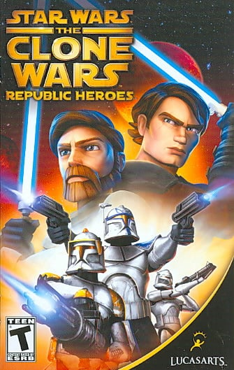PS2 - Star Wars: The Clone Wars -- Republic Heroes