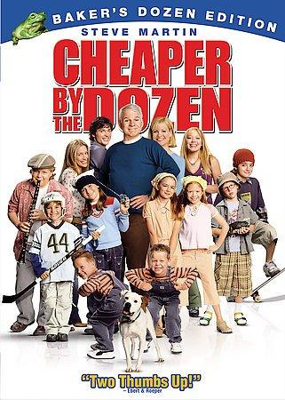 Cheaper By The Dozen (Special Edition) (DVD) - Thumbnail 0
