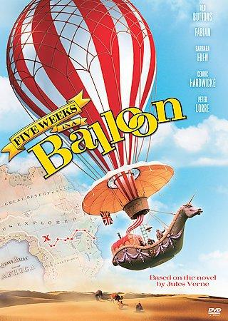 Five Weeks In A Balloon (DVD)