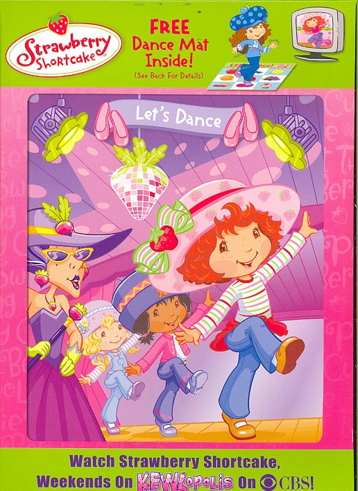 Strawberry Shortcake: Let's Dance With Dance Mat (DVD)