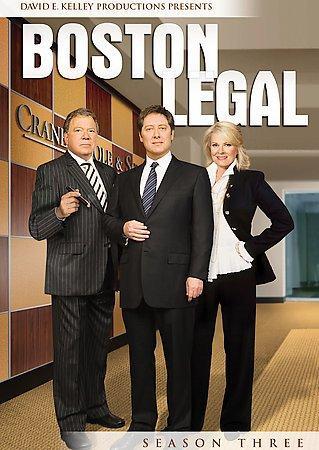 Boston Legal: Season 3 (DVD)