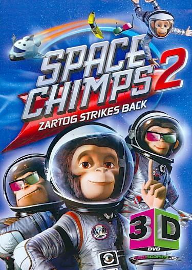 Space Chimps 2 3D (DVD)