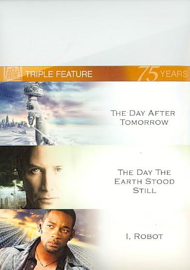 The Day After Tomorrow/I, Robot/The Day The Earth Stood Still (DVD)