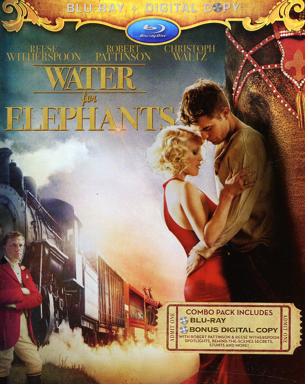 Water For Elephants (Blu-ray Disc)