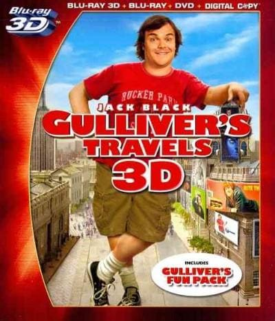 Gulliver's Travels 3D (Blu-ray/DVD)