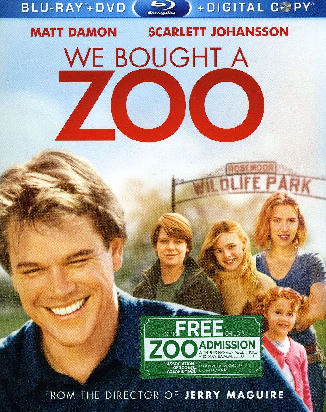 We Bought A Zoo (Blu-ray/DVD)