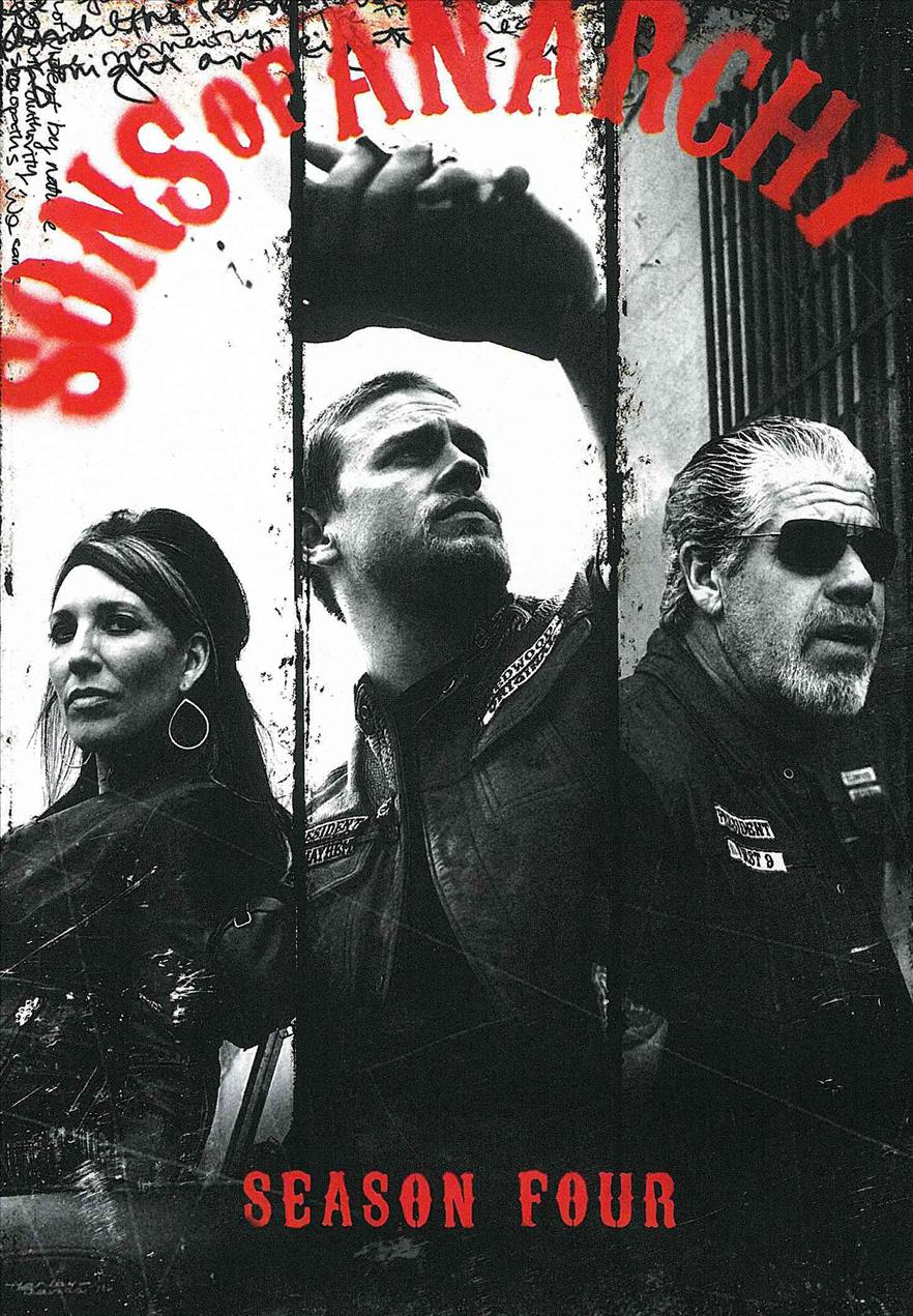 Sons Of Anarchy: Season 4 (DVD) - Thumbnail 0