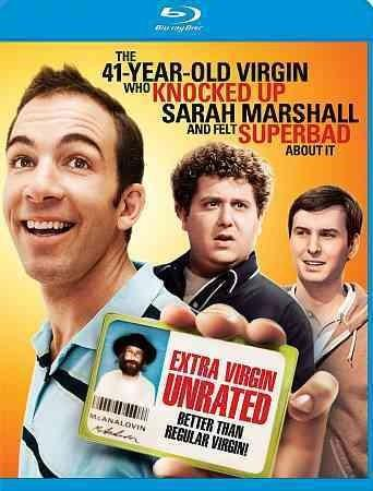 The 41 Year Old Virgin Who Knocked Up Sarah Marshall And Felt Superbad About It (Blu-ray Disc)