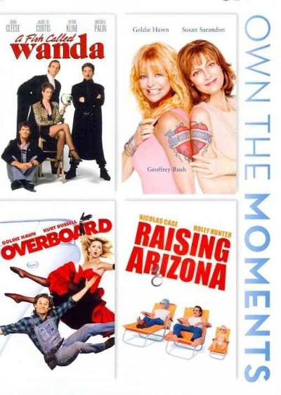 A Fish Called Wanda/The Banger Sisters/Overboard/Raising Arizona (DVD)