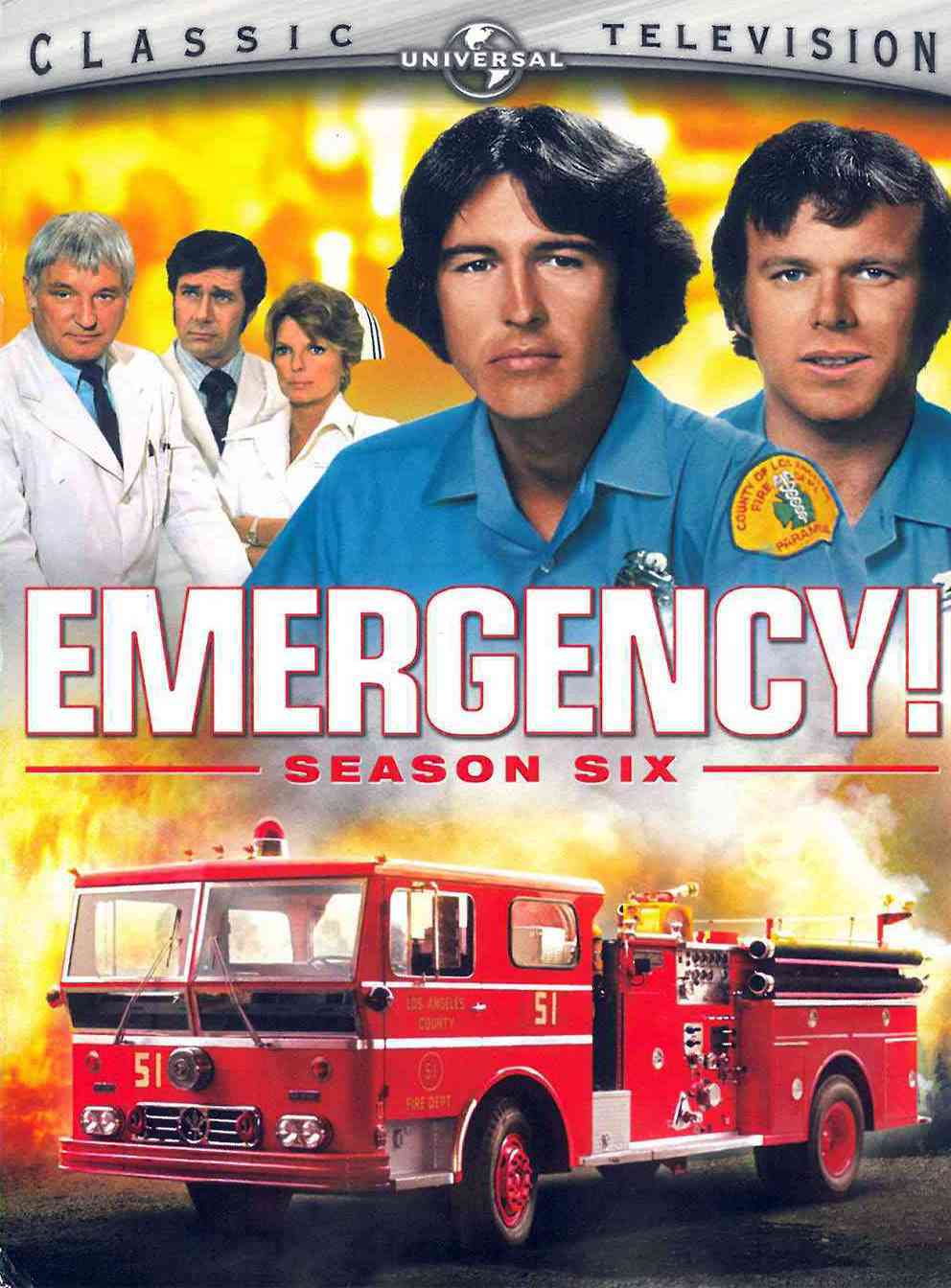 Emergency! Season Six (DVD) - Thumbnail 0