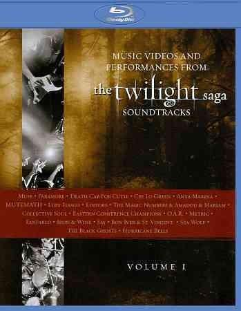 Music Videos And Performances From The Twilight Saga Soundtrack Vol 1 (Blu-ray Disc)