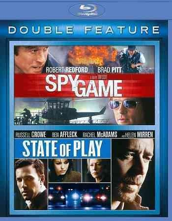 Spy Games/State Of Play (Blu-ray Disc)
