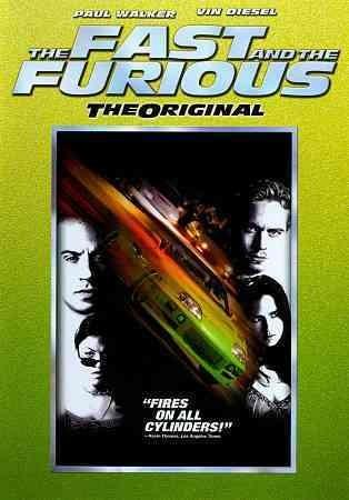 The Fast And The Furious (DVD)
