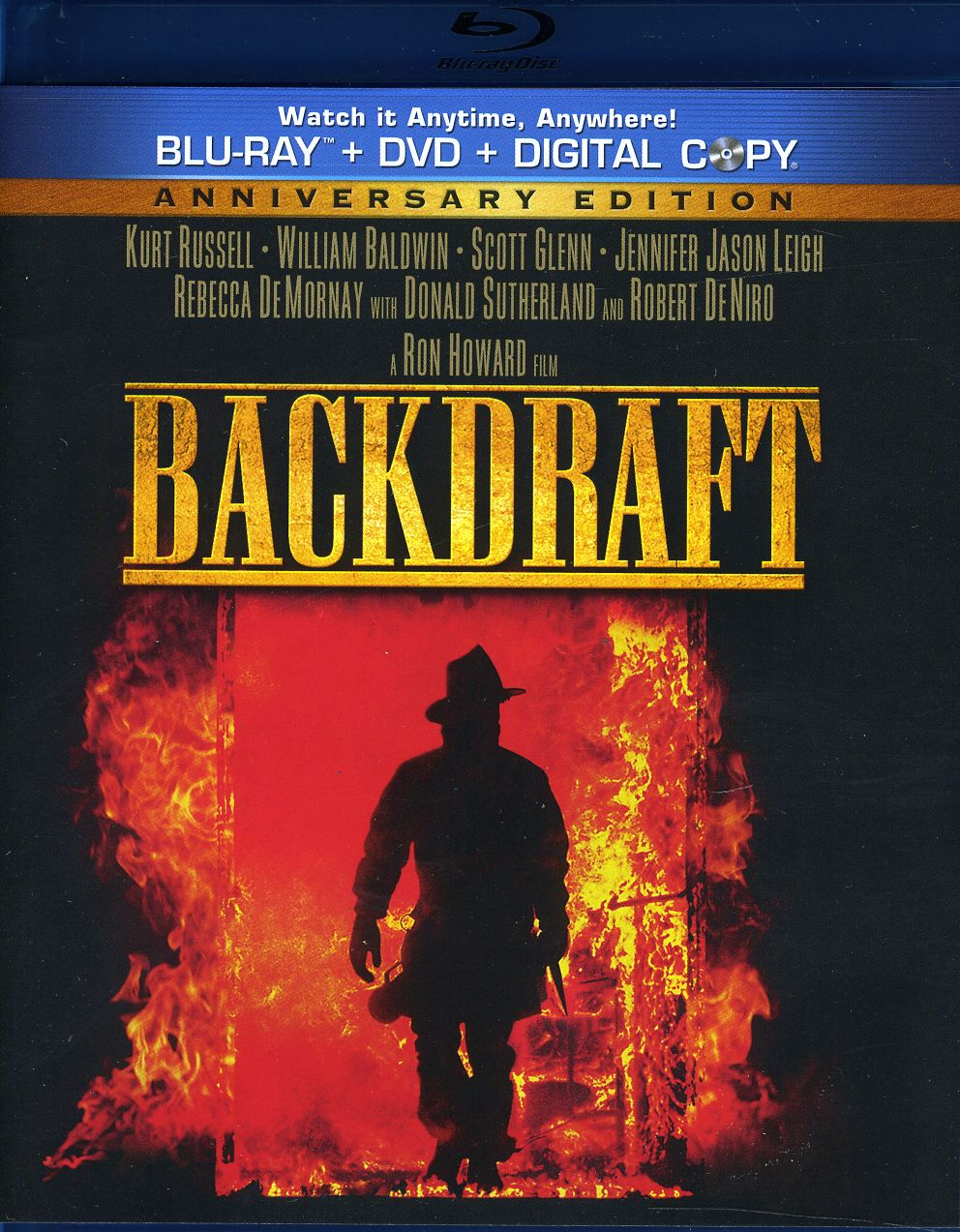 Backdraft (Anniversary Edition) (Blu-ray/DVD)